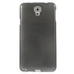 Gelové kartáčované pouzdro na Samsung Galaxy Note 3 Neo - černé - 2/5