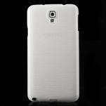 Gelové kartáčované pouzdro na Samsung Galaxy Note 3 Neo - bílé - 2/3