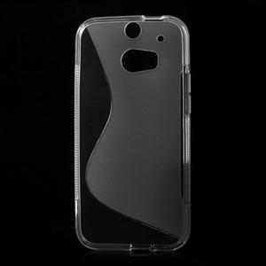 Gelové S-line pouzdro pro HTC one M8- transparentní - 2