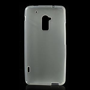 Gelové matné pouzdro pro HTC one Max- bílá - 2