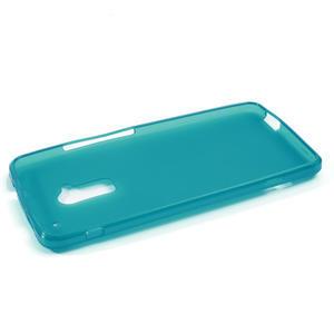 Gelové matné pouzdro pro HTC one Max- světlemodré - 2