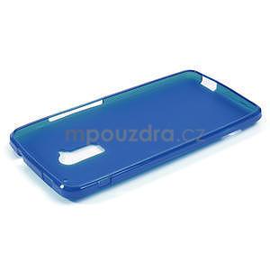 Gelové matné pouzdro pro HTC one Max- modré - 2