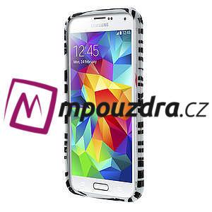 Gelové pouzdro na Samsung Galaxy S5- zebrovité - 2