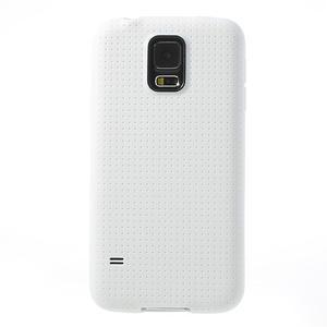 Gelové pouzdro na Samsung Galaxy S5- bílé - 2