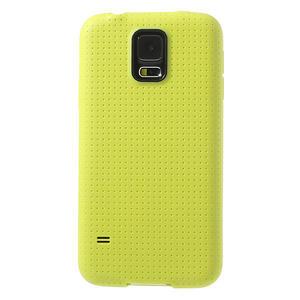 Gelové pouzdro na Samsung Galaxy S5- žluté - 2
