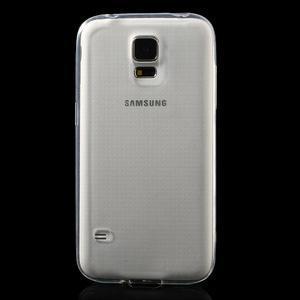Gelové ultraslim pouzdro na Samsung Galaxy S5- transparentní - 2