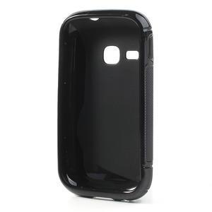 Gelové S-line pouzdro na Samsung Galaxy Young S6310- černé - 2