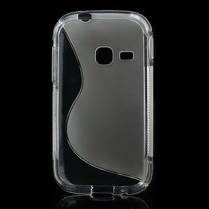 Gelové S-line pouzdro na Samsung Galaxy Young S6310- transparentní - 2