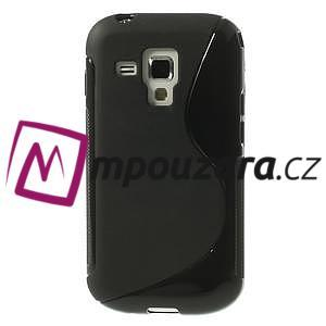 Gelové S-line pouzdro pro Samsung Trend plus, S duos- černé - 2