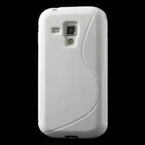 Gelové S-line pouzdro pro Samsung Trend plus, S duos- bílé - 2