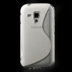 Gelové S-line pouzdro pro Samsung Trend plus, S duos- transparentní - 2