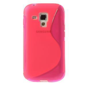 Gelové S-line pouzdro pro Samsung Trend plus, S duos- růžové - 2