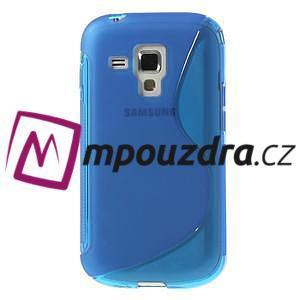 Gelové S-line pouzdro pro Samsung Trend plus, S duos- modré - 2