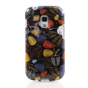 Gelové pouzdro na Samsung Galaxy Trend, Duos- lístky - 2