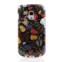Gelové pouzdro na Samsung Galaxy Trend, Duos- lístky - 2/6