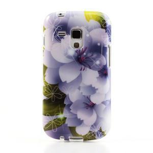 Gelové pouzdro na Samsung Galaxy Trend, Duos- elegantní květ - 2