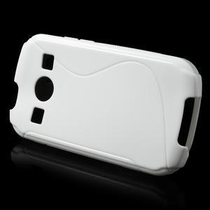 Gelové S-line pouzdro na Samsung Galaxy Xcover 2 S7710- bílé - 2