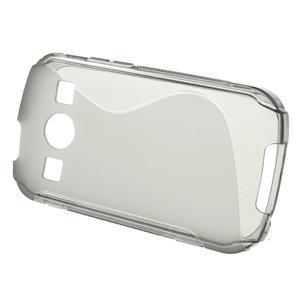 Gelové S-line pouzdro na Samsung Galaxy Xcover 2 S7710- šedé - 2