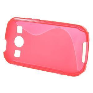 Gelové S-line pouzdro na Samsung Galaxy Xcover 2 S7710- růžové - 2