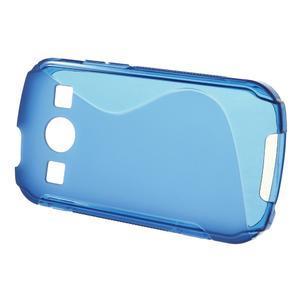 Gelové S-line pouzdro na Samsung Galaxy Xcover 2 S7710- modré - 2