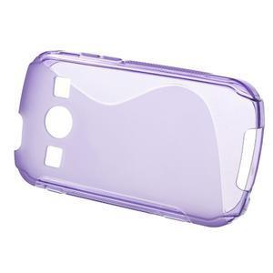 Gelové S-line pouzdro na Samsung Galaxy Xcover 2 S7710- fialové - 2