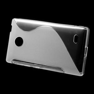 Gelové S-line pouzdro na Nokia X dual- transparentní - 2