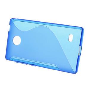 Gelové S-line pouzdro na Nokia X dual- modré - 2