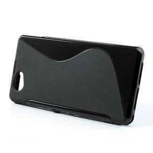 Gelové S-line pouzdro na Sony Xperia Z1 Compact D5503- černé - 2