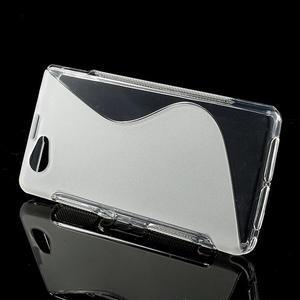 Gelové S-line pouzdro na Sony Xperia Z1 Compact D5503- transparentní - 2
