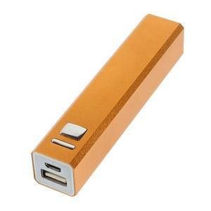 GTX kovová externí nabíječka 2 600 mAh - oranžová - 2