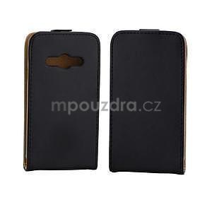 Flipové pouzdro na Samsung Galaxy Xcover 3 - černé - 2