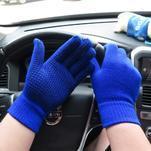 GX protiskluzové rukavice - modré - 2/4