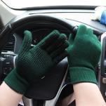 GX protiskluzové rukavice - zelené - 2/4