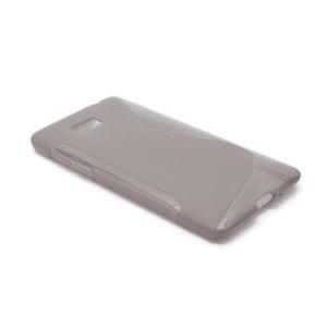 Gelové S-line pouzdro pro HTC Desire 600- šedé - 2