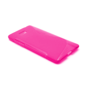 Gelové S-line pouzdro pro HTC Desire 600- růžové - 2