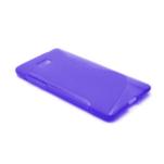 Gelové S-line pouzdro pro HTC Desire 600- fialové - 2/6