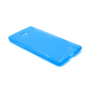 Gelové S-line pouzdro pro HTC Desire 600- modré - 2