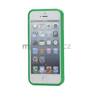 S-line hybrid pouzdro pro iPhone 5, 5s- zelené - 2