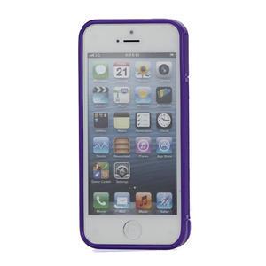 S-line hybrid pouzdro pro iPhone 5, 5s- fialové - 2