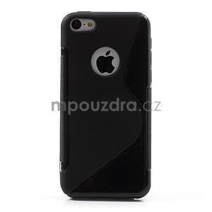Gelové S-line pouzdro pro iPhone 5C- černé - 2