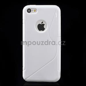 Gelové S-line pouzdro pro iPhone 5C- bílé - 2