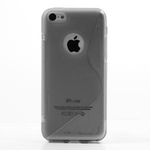 Gelové S-line pouzdro pro iPhone 5C- šedé - 2