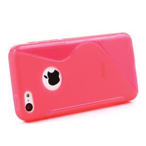 Gelové S-line pouzdro pro iPhone 5C- růžové - 2