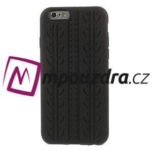 Silikonové pneu na iPhone 6, 4.7 - černé - 2