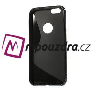 Gelové S-line pouzdro na iPhone 6, 4.7 - černé - 2