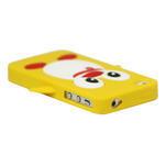 Silikonový Tučňák na iPhone 4 4S - žlutý - 2/3