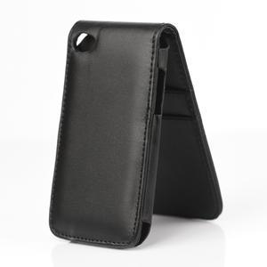Flipové pouzdro na iPod Touch 4 - černé - 2