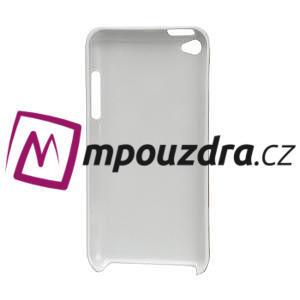 Plastové pouzdro na iPod Touch 4 - bílé puntíkaté - 2