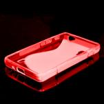 Gelové S-line  pouzdro pro LG Optimus L5 II E460- červené - 2/5