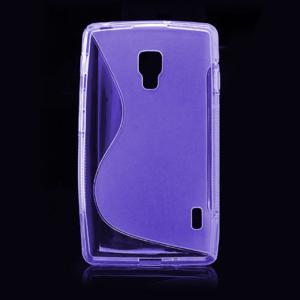 Gelové S-line pouzdro pro LG Optimus L7 II P710- fialové - 2